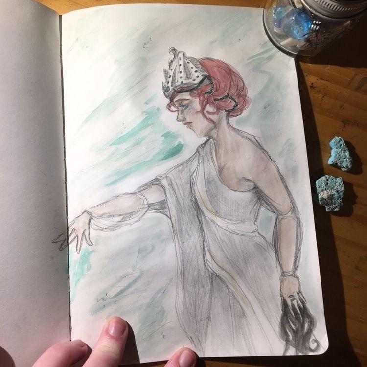 deity story friend writing, sta - astarbriarart   ello