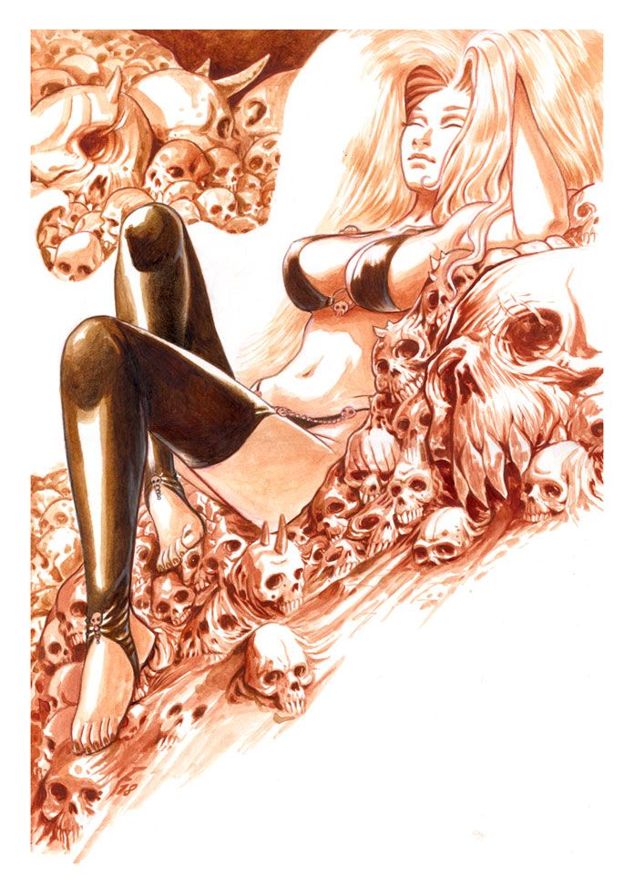Lady Death, commission - ladydeath - fredgri | ello