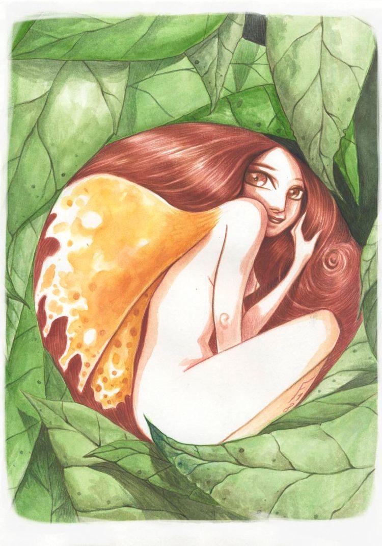 fee, faerie, aquarelle - fredgri | ello