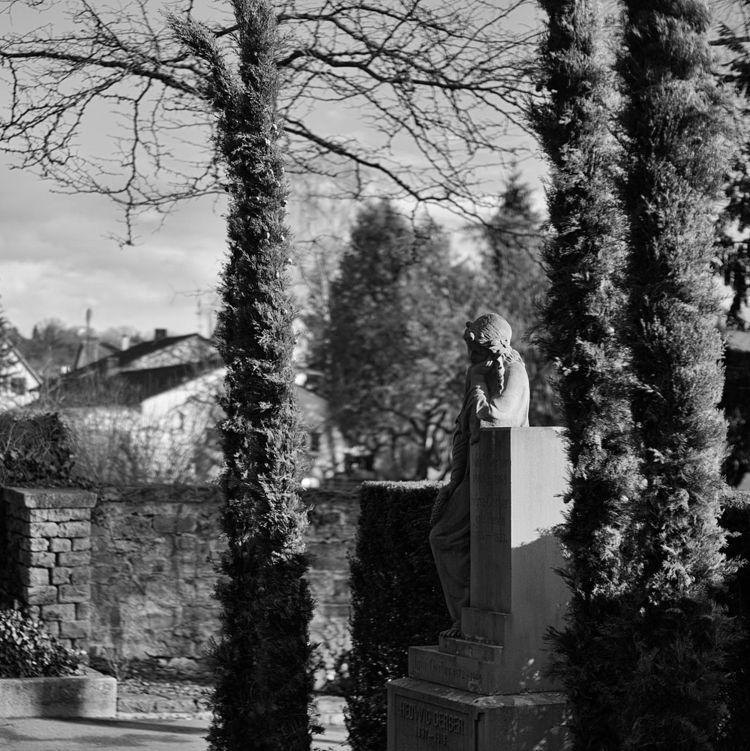 Latencies - photography, cemetery - marcushammerschmitt | ello