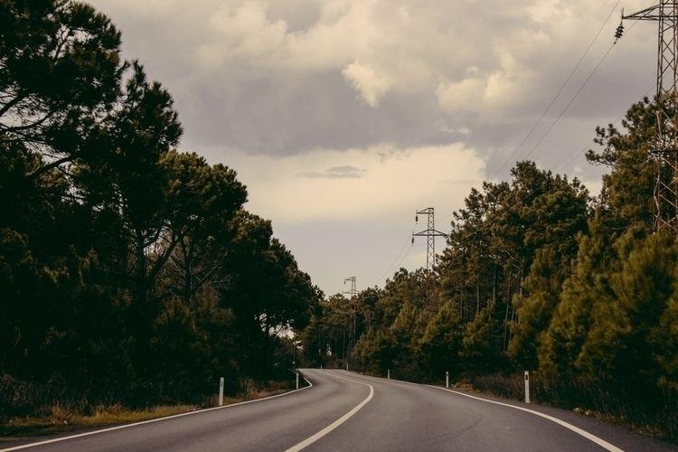 road, autumn - littlefathertime | ello