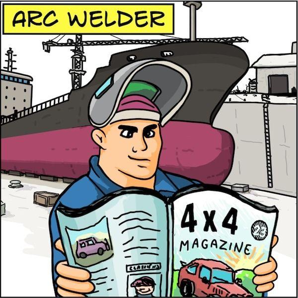 4 - ArcWelder, Ark, Noah, 4x4, Magazine - rickatkinson   ello