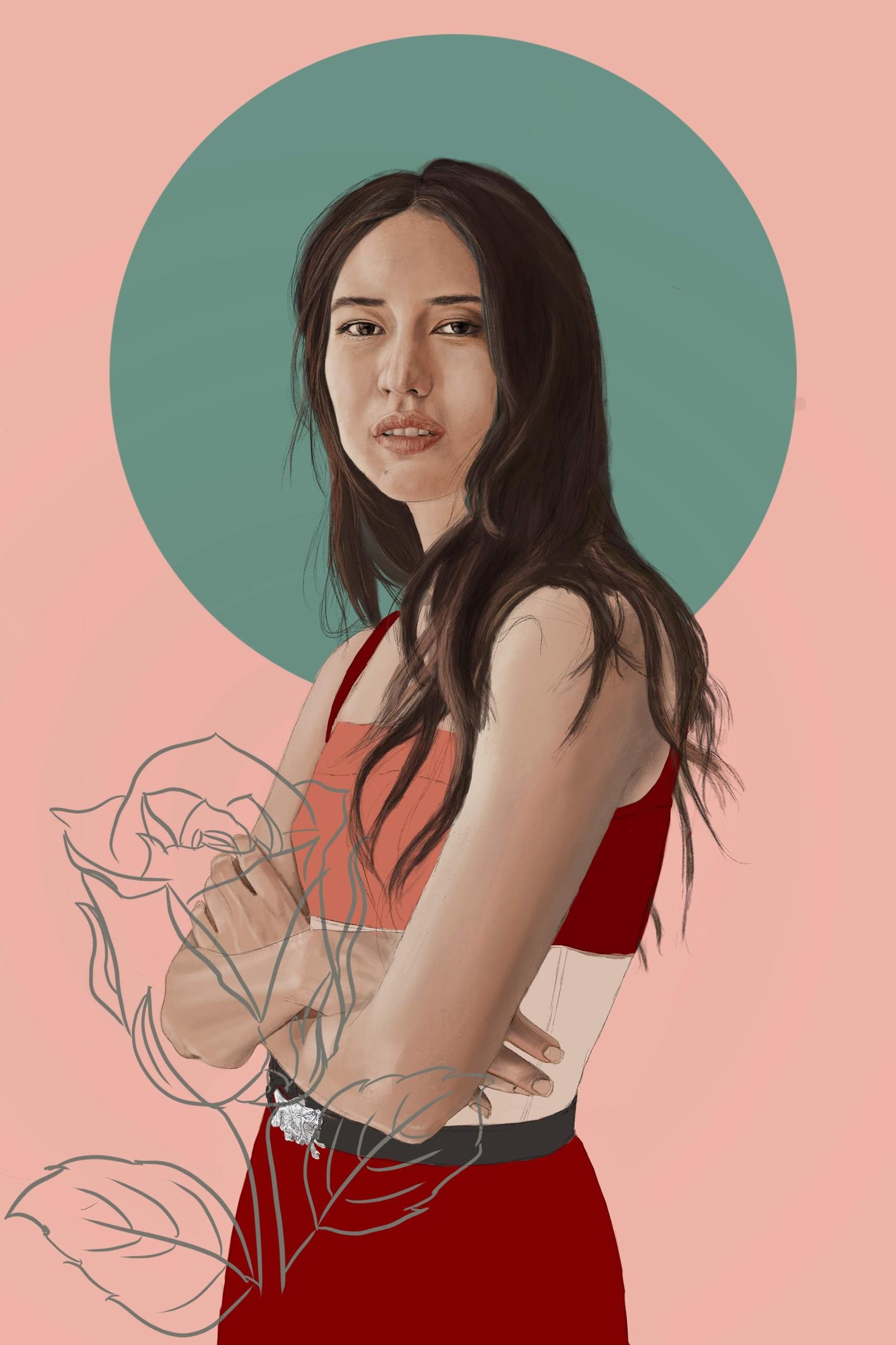 Sonoya Mizuno - digital paintin - psthatsme | ello