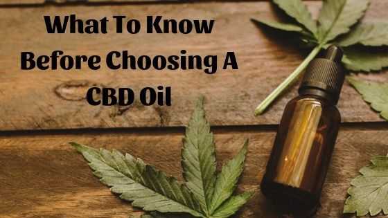 Choosing CBD Oil ways, dependin - cbdlot | ello