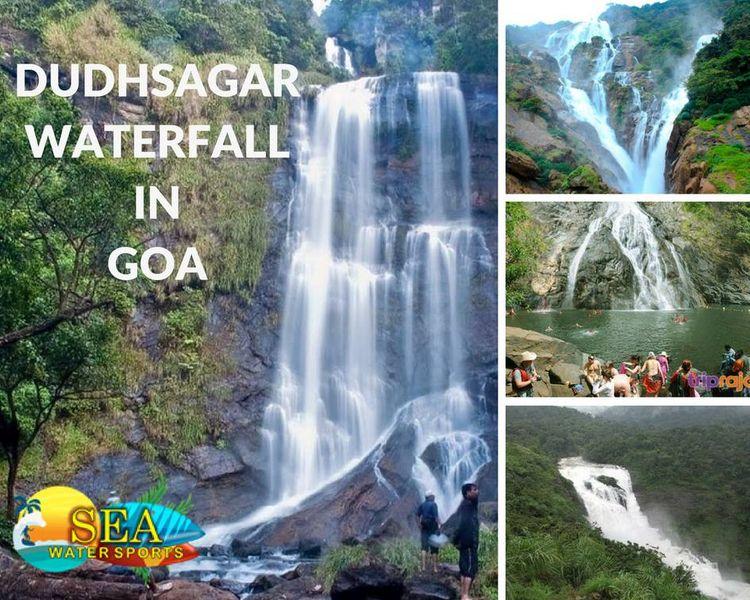 DUDHSAGAR WATERFALL GOA Dudhsag - seawatersports | ello