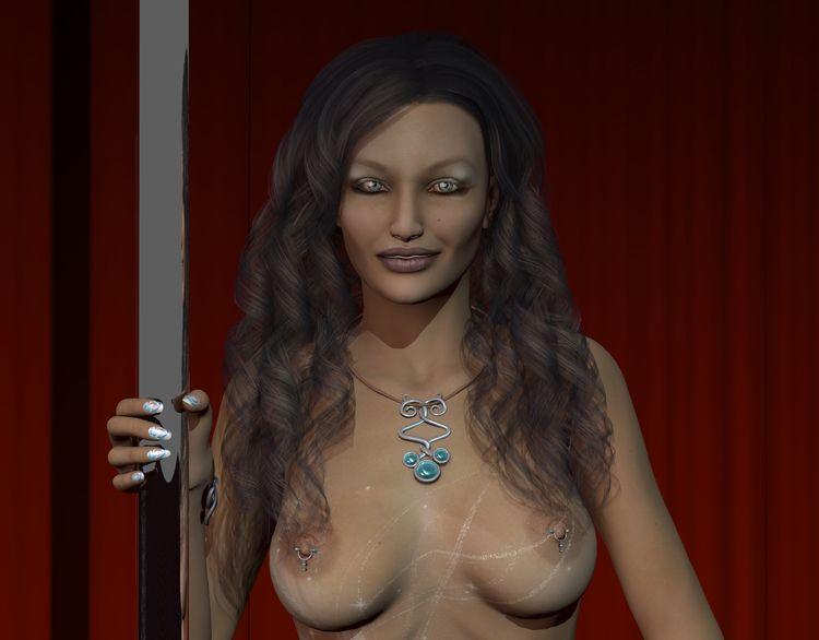Showgirl 03 (01-02/02 - 3d, 3d_art - thor3d | ello