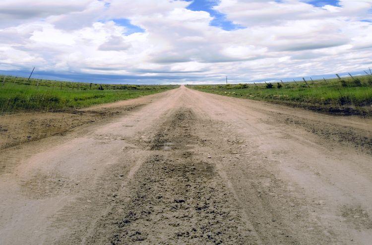 Las Vegas, NM - road, dirtroad, sky - jasonbleecher   ello