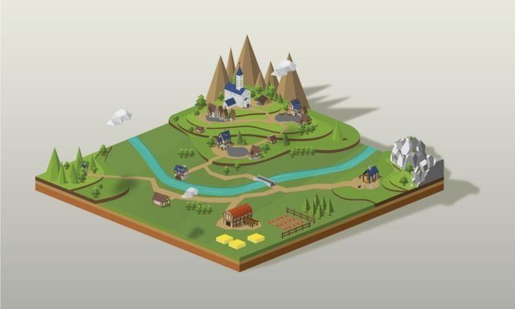 illustration, game, gaming, digitalart - marlenecanto | ello