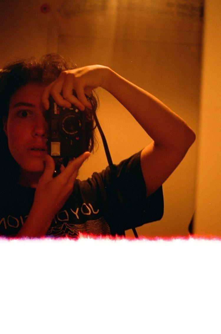 analogue beloved Konica C35 - selfportrait - lola_noir | ello