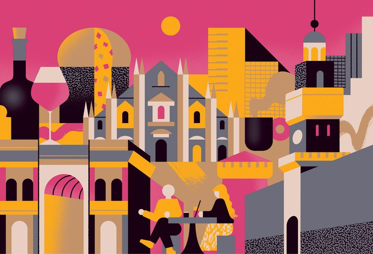 Milan - illustrations, design, editorial - alconic | ello
