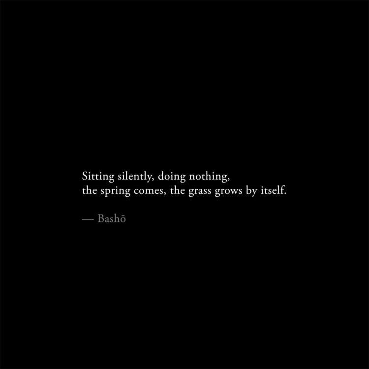 Silence. contemplative morning  - theunsui | ello