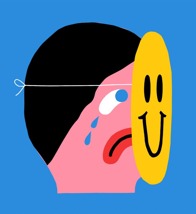 Disguise - illustration, grossillustration - grossillustration | ello