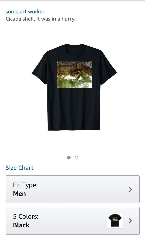 Merch Amazon. . .  Cicada s - someartworker | ello