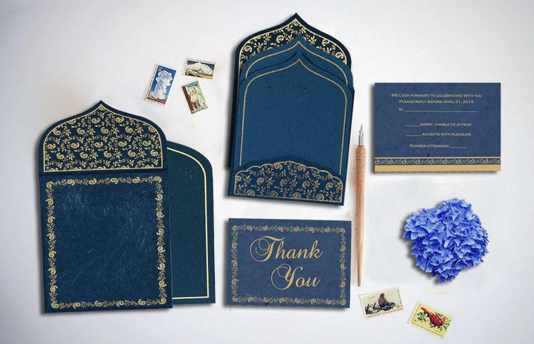 Traditional Muslim Wedding Invi - oliviabaker91   ello