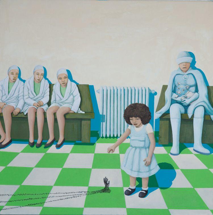 - acrylic canvas cm 60x60 2019 - giannicasagrande | ello