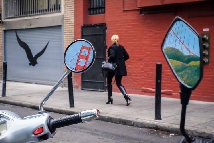 Lady Mirror Alley, San Francisc - jackthestreet | ello