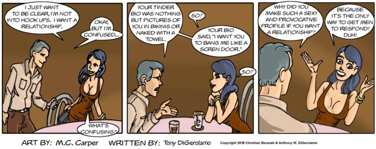 Relationship: Mixed Signals - webcomics - tonydigerolamo | ello