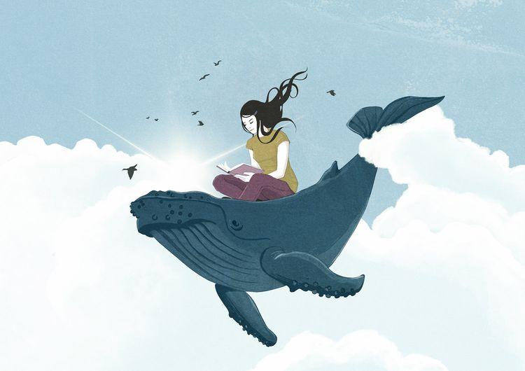 Sailing sea imagination - illustration - roma_gutierrez | ello