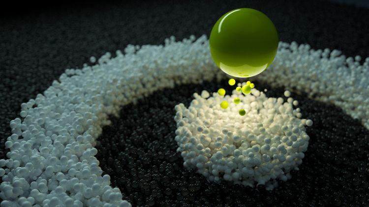 cinema4d, octane, xparticles - tahacy | ello