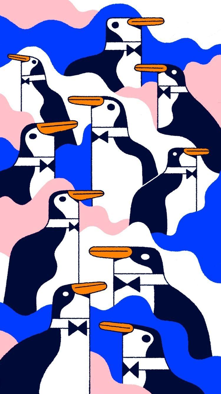 Penguins - ello, ellodesign, experimentation - victorvilela | ello