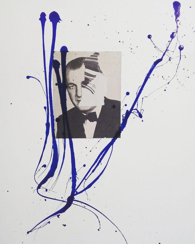 art, collage, mixmedia, cutandpaste - sanchezisdead | ello