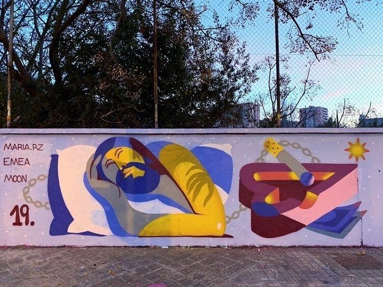 collab Emea Barcelona - streetart - mariarz | ello