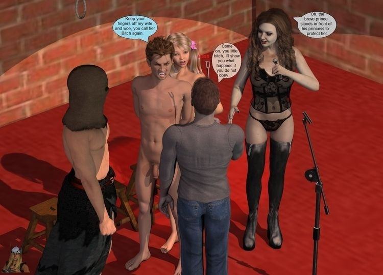 hanging Club, Couple day 01 04  - thor3d | ello