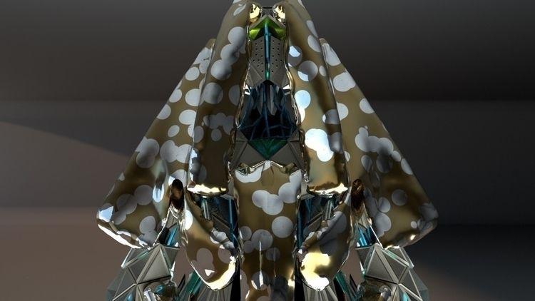Infinity avatar - houdini, octane - satcy | ello
