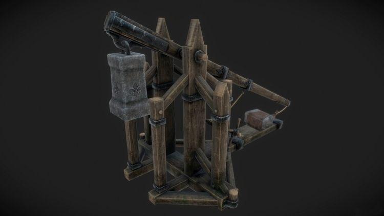 Poly Model trebuchet inspired W - salvavahur | ello