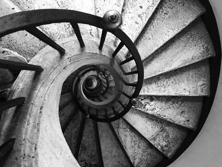 Staircase Bernini, Black White - stephz129 | ello