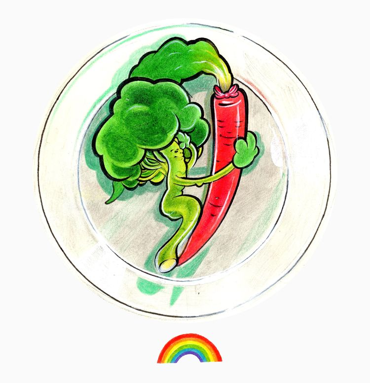 LOVE 2018 - love, LGBT, rainbow - annadanke | ello