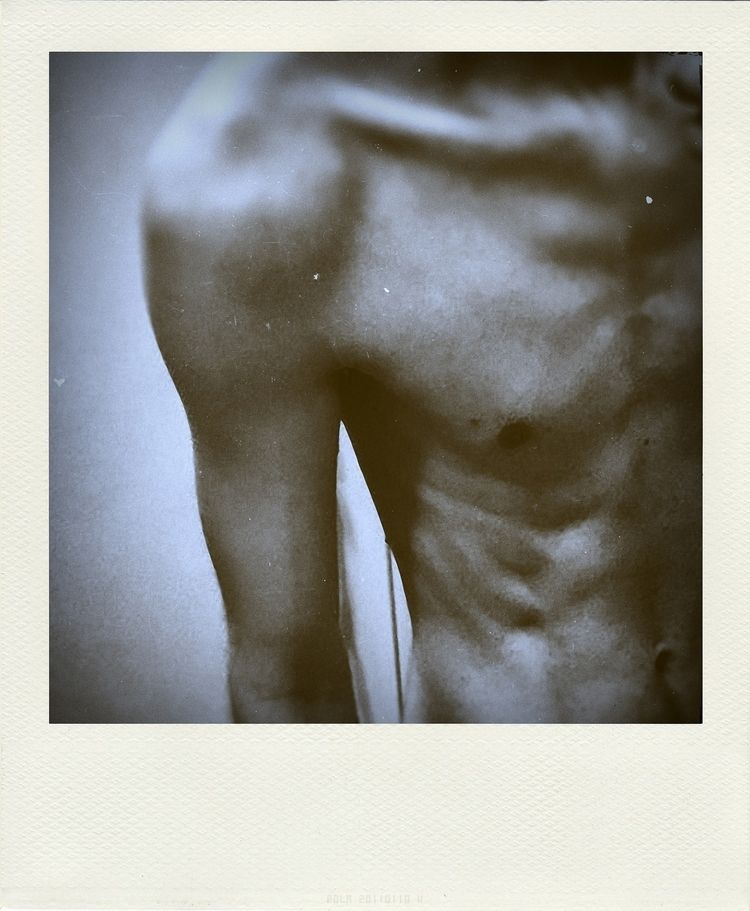Male sketch - 1, photography, polaroid - themaleproject | ello