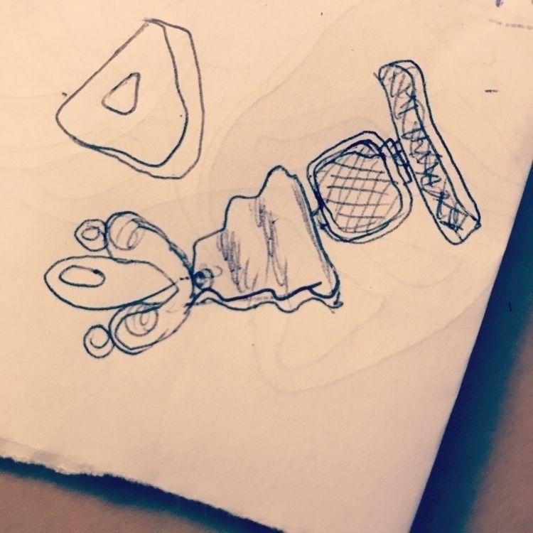 Future pieces: sketch - jewels, bracelet - mariaelen | ello