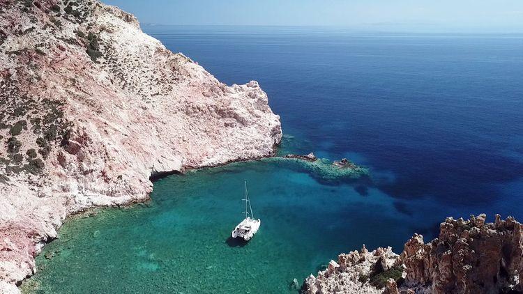 Sailing Greek Islands - sailing - catamaran-emelia | ello