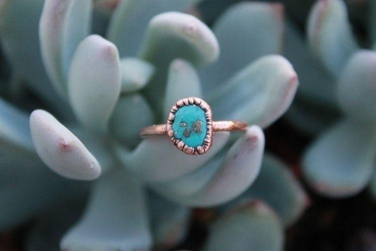 Sleeping beauty turquoise pyrit - crystalsandsucculents | ello