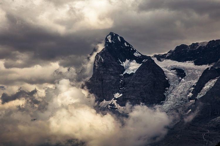 Eiger, Switzerland west flank E - papa_delta | ello