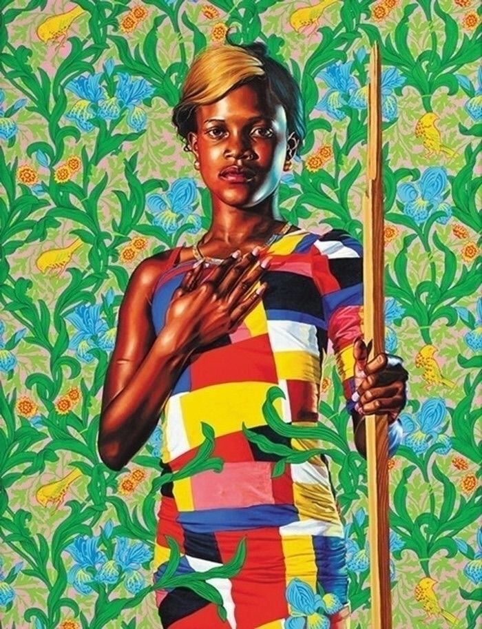 Kehinde Wiley York City-based p - blackartmatters | ello
