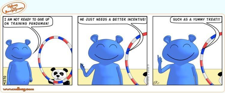 Time approach - cute, panda, training - ndbag | ello