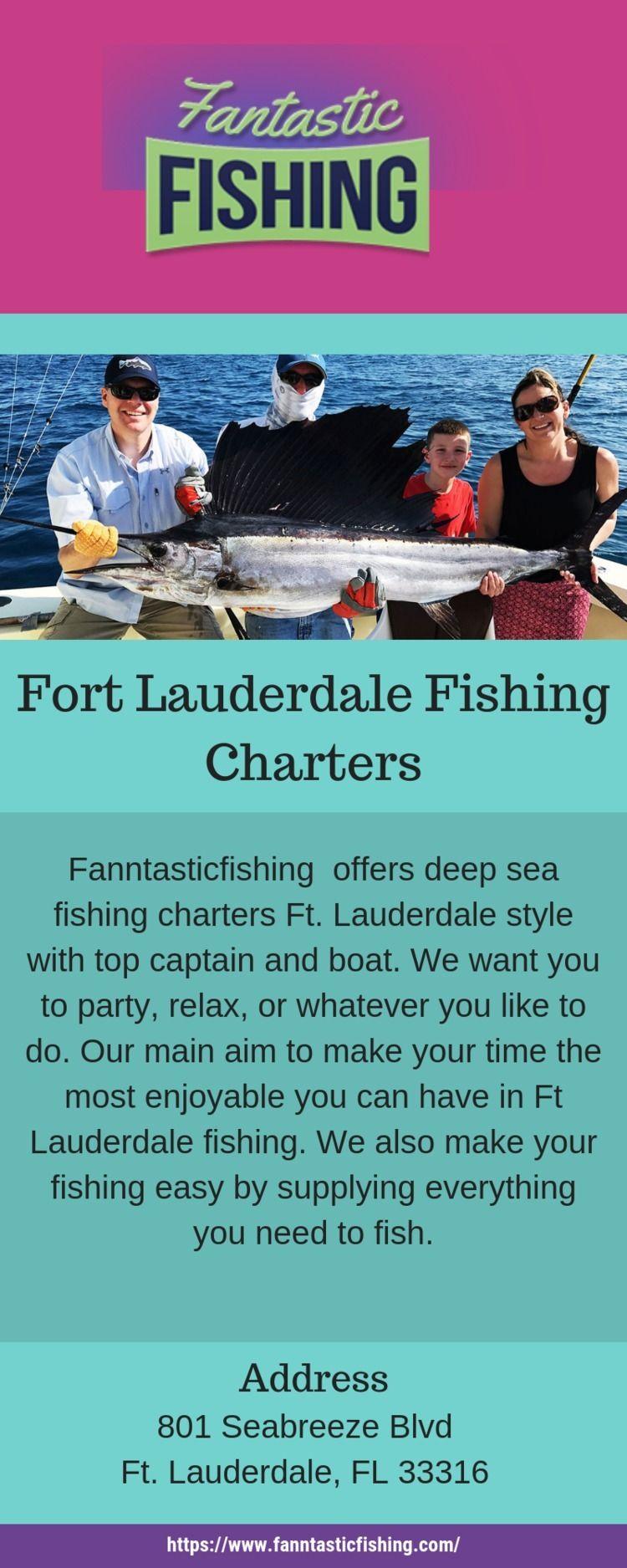 Charter Boats Fort Lauderdale?  - fanntasticfishing | ello