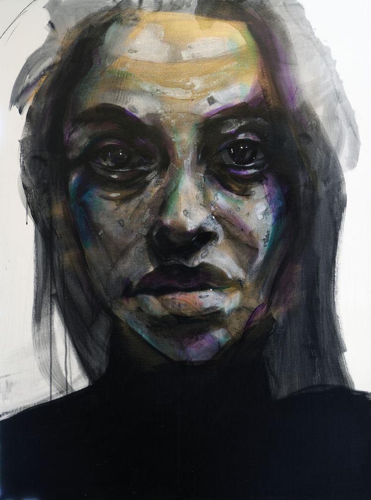 Rheanna 6 48x36 acrylic canvas - wlstoehr | ello