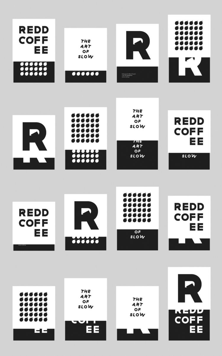 REDD Coffee Packaging: Box. ele - hellopanos | ello