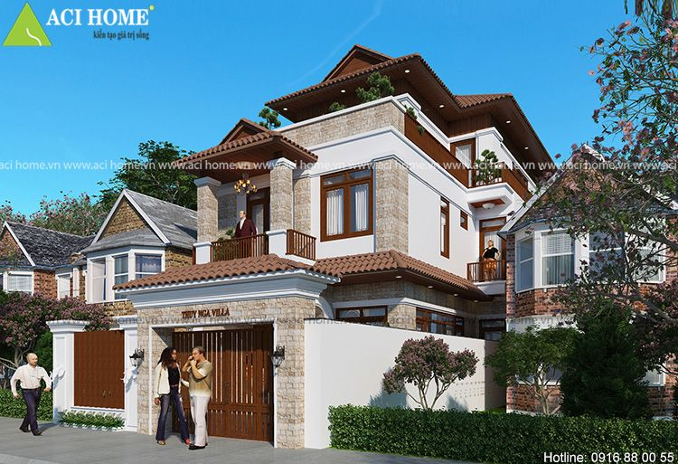 East Asian villa design  - lucton   ello