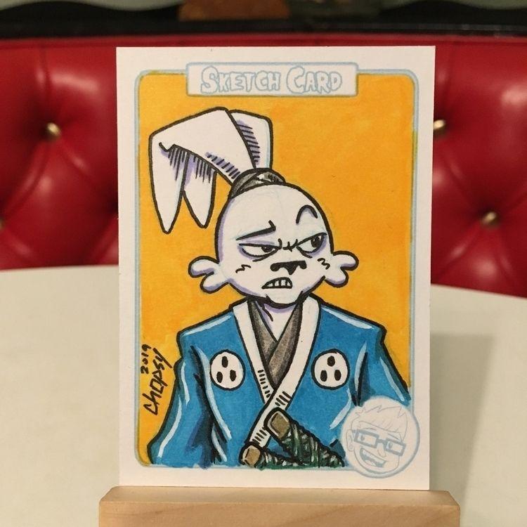 Usagi Yojimbo! sketchcard. want - chopsy | ello