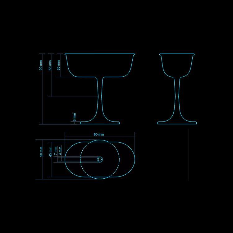 Bombay Sapphire Designer Glass  - grabatdot | ello