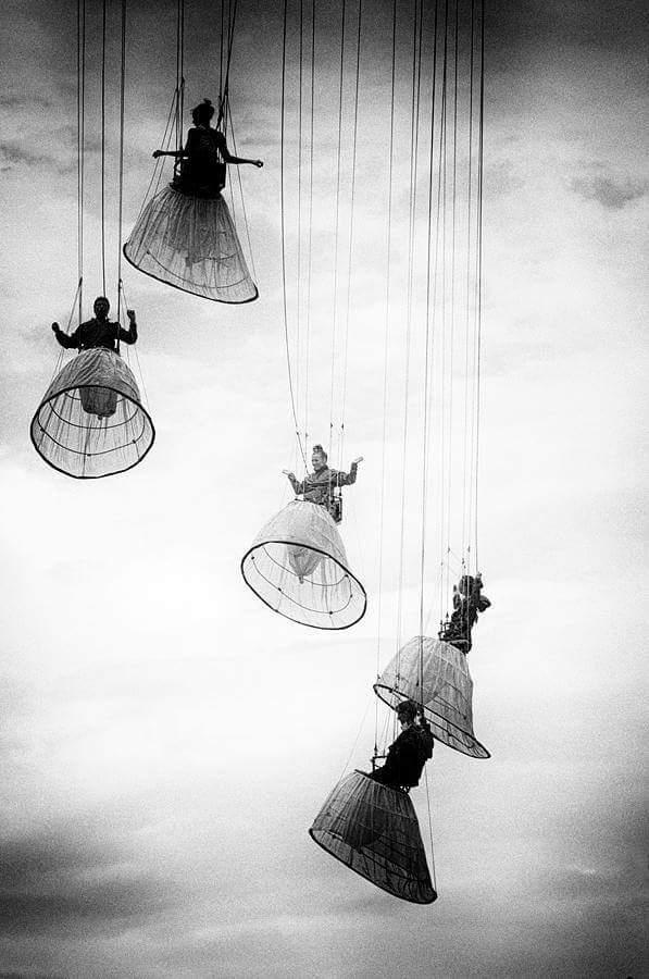 Sky dancers, unspecified ballet - arthurboehm | ello
