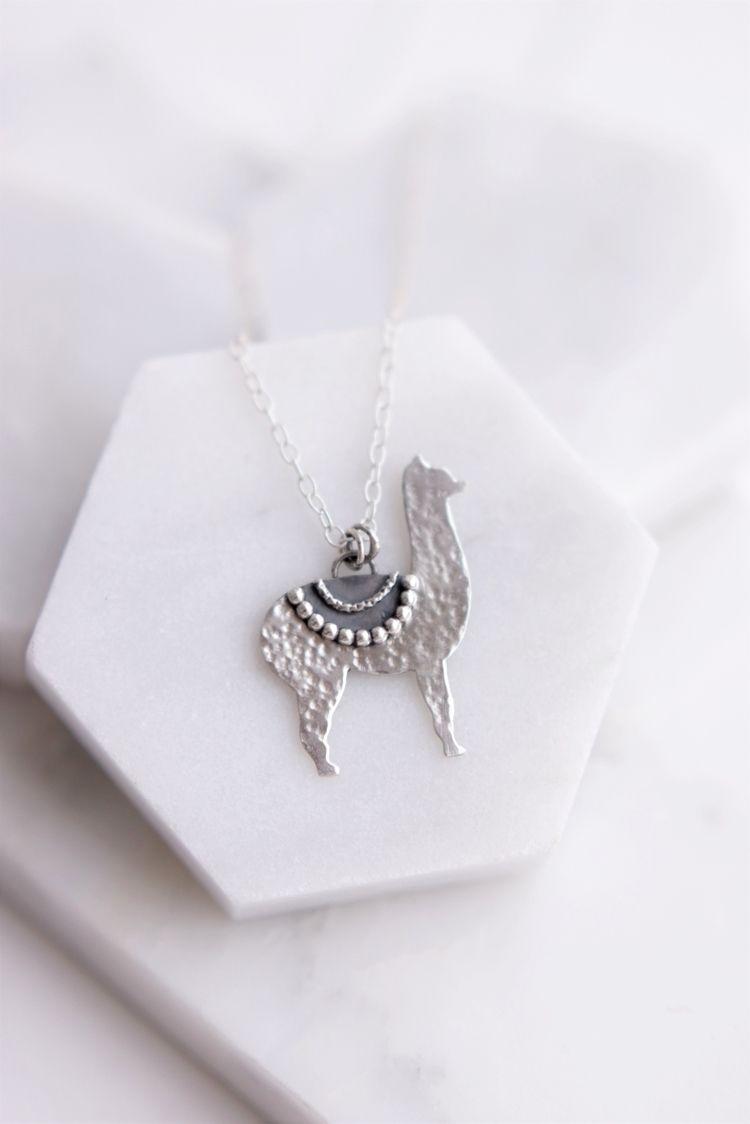 Cute Alpaca necklace! kind Llam - stardustmine | ello