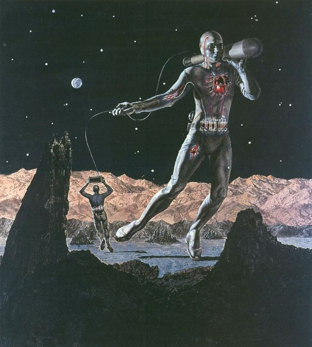Cyborg - Man Remade Live Space  - leriseux | ello