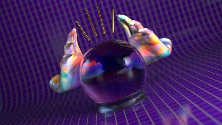 Mystic Ball - 3dillustration, 3d - hashmukh | ello