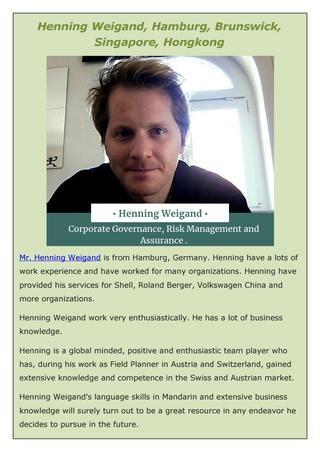 Henning weigand, hamburg, bruns - henningweigand | ello