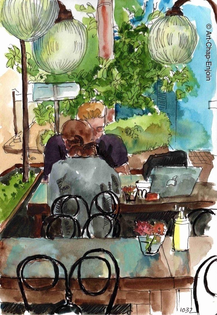 1032 - Coffee Antipodean roadsi - artchapenjoin   ello